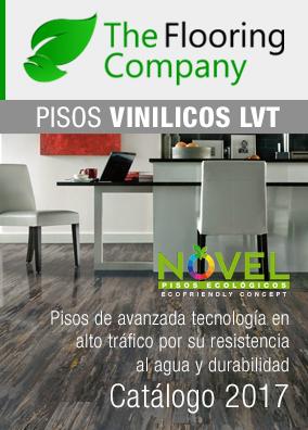 Descargue el catálogo de Pisos Vinílicos con la gama completa de diseños 2017.